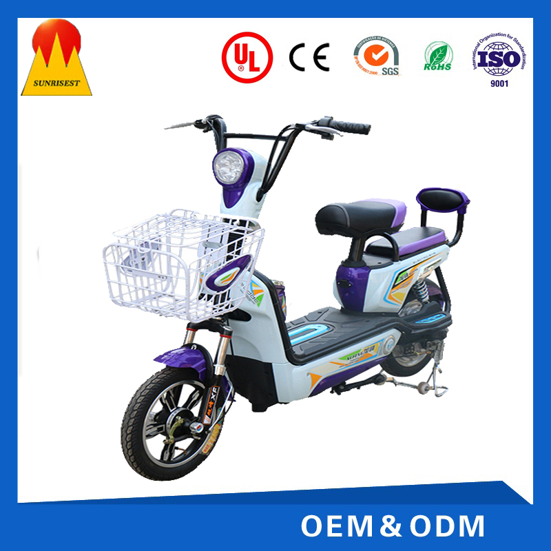 Factory Supply Good Performance 350W Adult Electric Mini Motorcycle