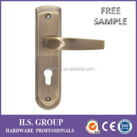 On sale! The latest high quality aluminum window opener handle on plate and metal handle HSMHKM270-L221-15