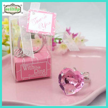 Hot sell crystal keyring for arabic party favors