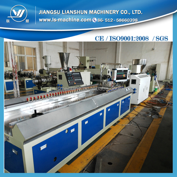 Jiangsu Zhangjiagang Plastic Machinery UPVC Door Window Making Machine Price