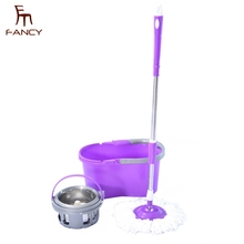Top sale handle easy wring clean magic 360 spin mop