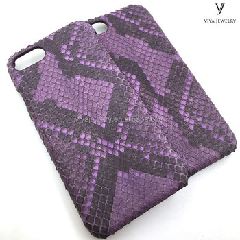 python leather phone case for Phone 7 luxury unisex items