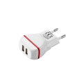 Dual Port Electric Type and Mobile Phone Use Usb wall Charger