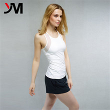High Quality Fitness Custom Woman yoga apparel wholesale Sports Tank Top