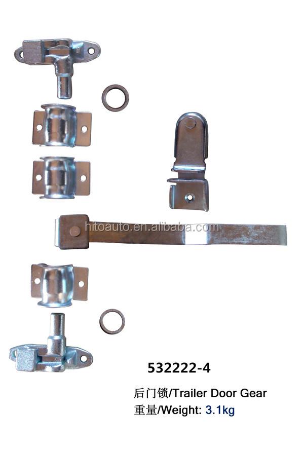 Stainless steel horse trailer container door handle lock for Salt resistant door handles