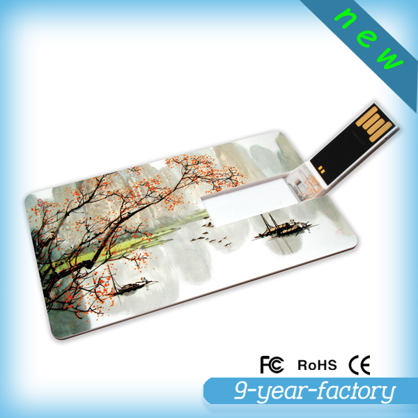 Wholesale Bulk items Plastic credit card usb flash drive manufacturer ,4gb 8gb usb business card promotional gift