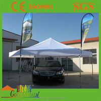 High duty aluminium frame car parking canopy tent outdoor with customer logo
