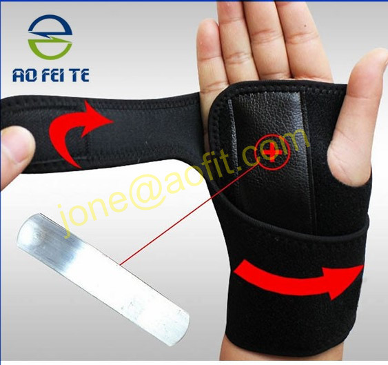 hot selling 2018 Amazon adjustable wrist brace wrist support to relieve pain and help recovery for women and men