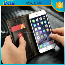 Factory Price! Magnetic Flip Wallet Leather Phone Case for Nokia Lumia 710