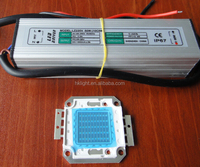 50W 385nm UV high power LED chip with LED driver power supply
