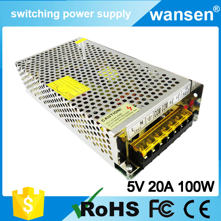 Professional Manufacture 5v 100w usa S-100-5 factory direct sale