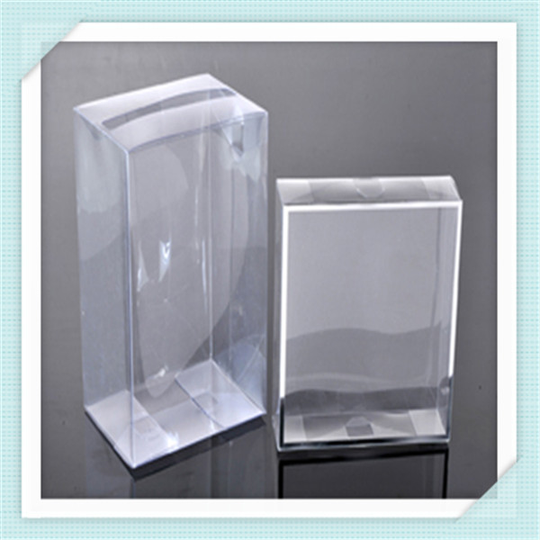 Moda frosted y pvc transparente caja transparente cajas de - Caja transparente plastico ...