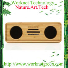 super mini bamboo bluetooth speaker for ipad air