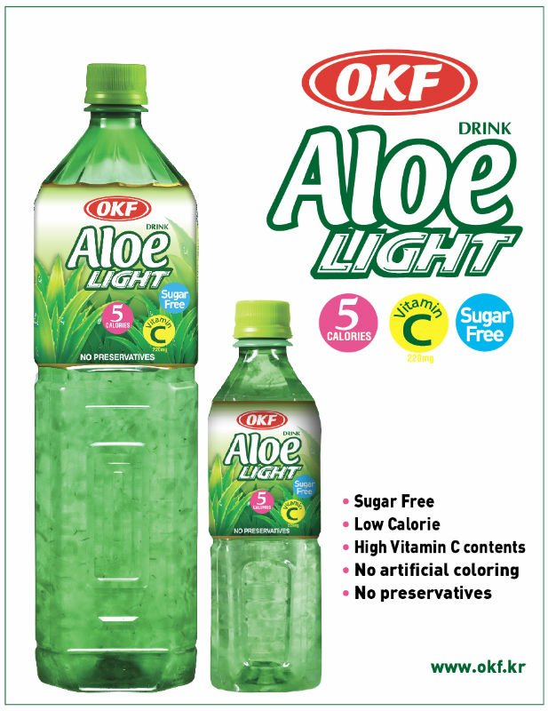 OKF Sugar Free Aloe Vera Drinks