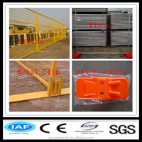 Galvanized iron wire temporary construction fence panels