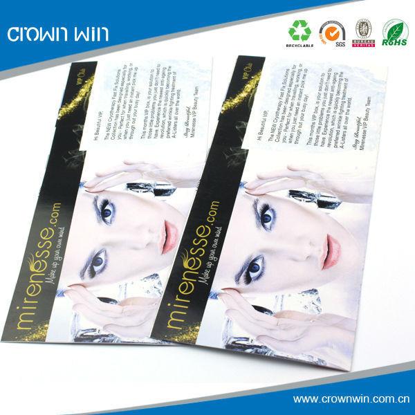 Fancy cosmetic advertising catalogue /brochure design