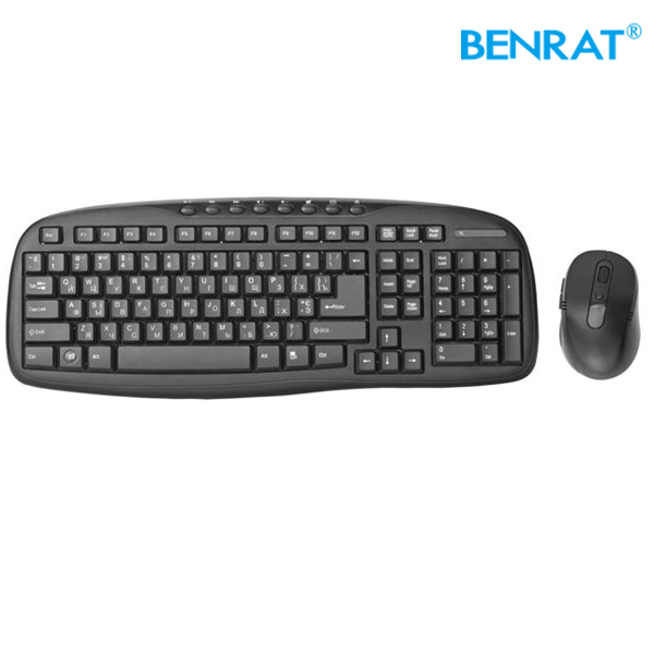 Brand Laptop computer factory 2.4Ghz Wireless mouse keyboard combo