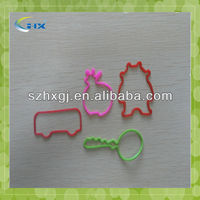 2015 newest design Eco-Friendly Loom Rubber/Silicone Bands