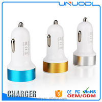 Micro Auto Mini Adaptor Bullet Dual USB 2 Port Universal Car Charger