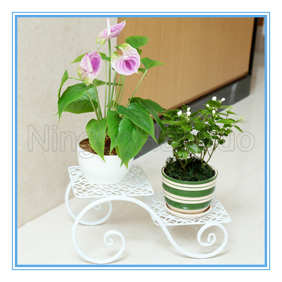 New Fashion Metal Painting Flower Pot Frame Stand