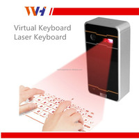 Portable USB Wireless Bluetooth Contact Projection Laser Virtual Keyboard