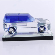 Best selling souvenirs and gifts wedding favor crystal car model