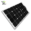 50w thin film solar panel flexible sunpower solar panel panneau solaire 20% efficiency