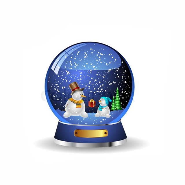 Christmas Souvenirs Snow Globe Cheap