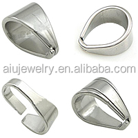 316L stainless steel jewelry bails for jewelry making