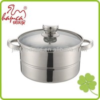 Induction cookware Stainless steel steamer and cooking pots kitchen supplies