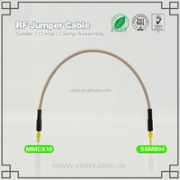 RF application cable MMCX to SSMB female connector RG316 cable assembly for antenna