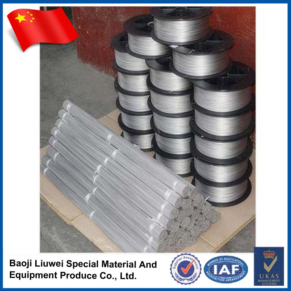 Baoji Liuwei GR5 anodized titanium wire for industrial
