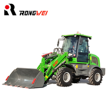 rongwei brand mini tractors with front end loader for sale