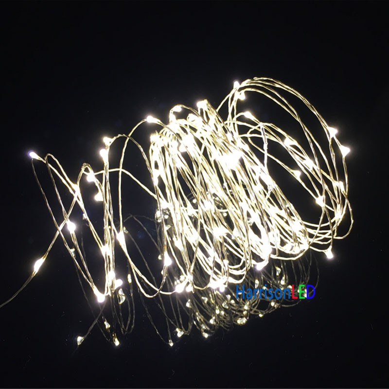 Mini String Lights On Wire : 33ft 100led copper wire string lights, mini led starry light with UL certified adapter,ON/OFF ...