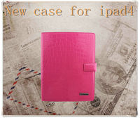Smart cover case for ipad4/3/2 with PC shell,for ipad smart case