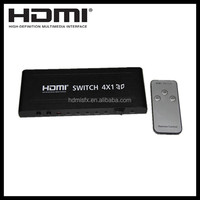 hdmi selector 4x1, with 4 input 1 output,support 3d, 4Kx2K, picture in picture function