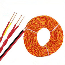 Flexible bare copper conductor Twisted electrical Wire RVS cable home application