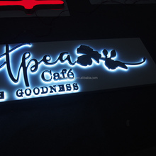 Low Price 3d Build Up Acrylic Edge Lit Led Letter Signs