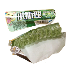 Customized Fruit flavor Sugar coated Fox jelly Soft jam sour candy