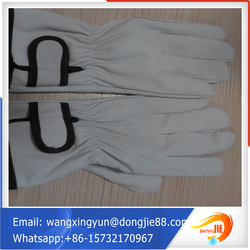 Pallet packing wholesale leather gloves/leather gloves motorcycle