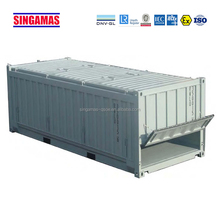 20 feet half height container open top container with ISO standard