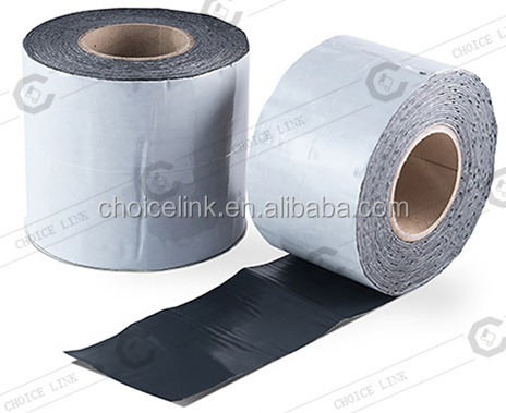 Self Adhesive Rubberized Bitumen Based Cold Applied Polymeric Waterproof Flash Tape
