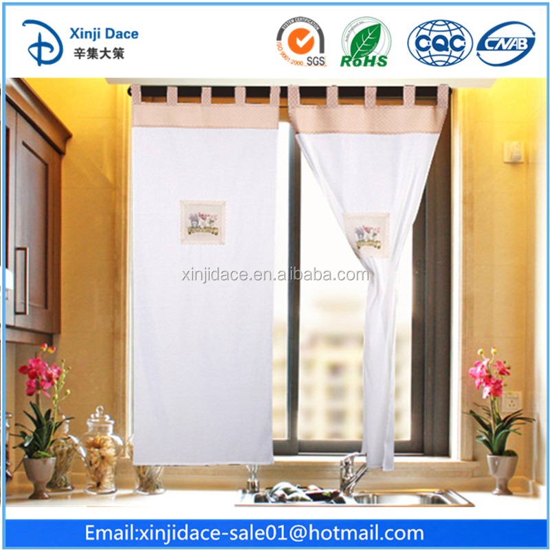 Elegant hot selling garden style curtain ready made