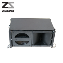 Zsound passive line array speaker+self powered line array \empty line array cabinet