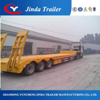 Professional 40FT flatbed trailer used semi trucks sale