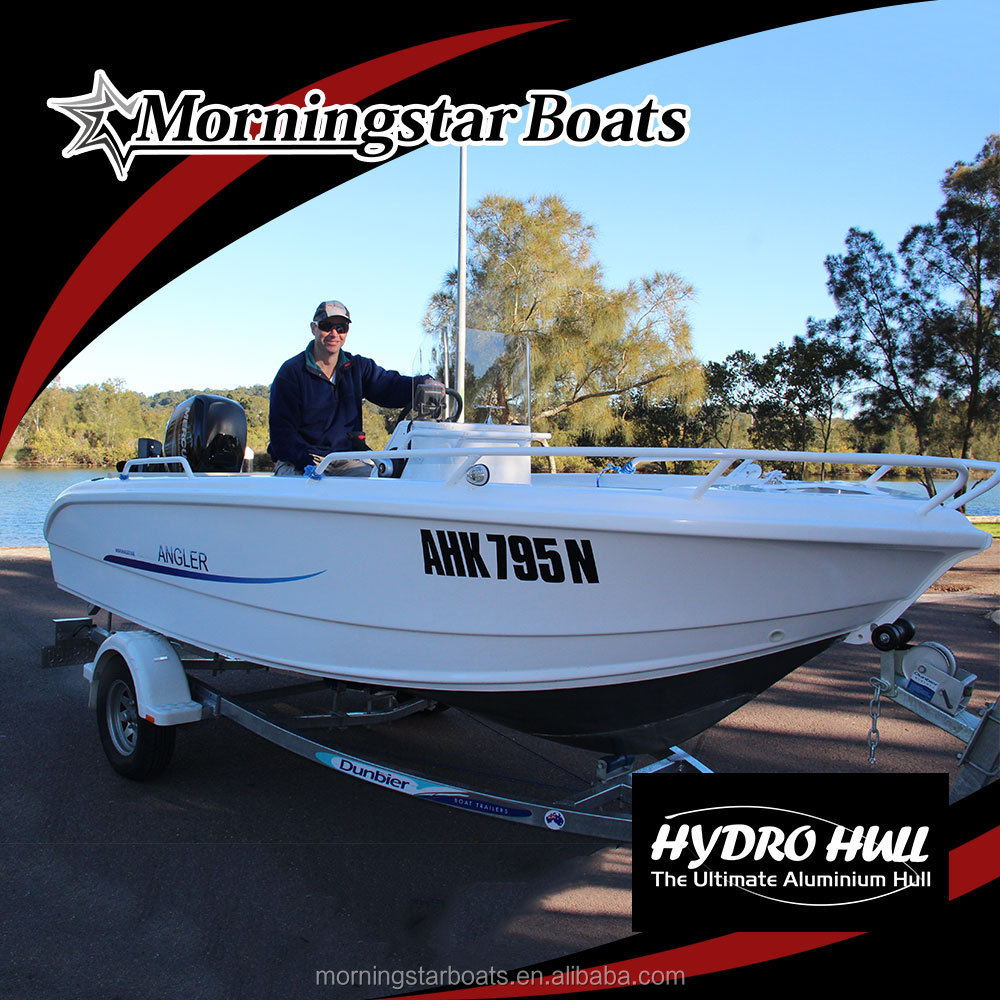 2015 Hot Sale 17ft aluminum fishing boat for sale