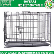 Haierc Small Dog Crate, Single-Door Folding Metal cage