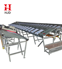 Glass Sloping Table Silk Screen Printing Table for Sale