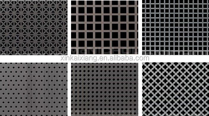 Perforated Metal Plate Perforated Corrugated Metal Panels