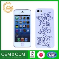 Logo Printed Cell Phone Cover Custom Design Reasonable Price For Pc Iphone 5 Case